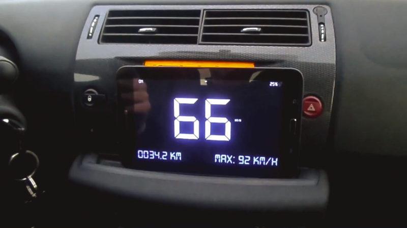 GPS (HUD) Spidomeeter